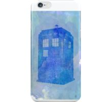 Tardis (watercolour) iPhone Case/Skin