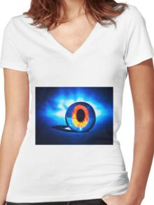 Palantír Women's Fitted V-Neck T-Shirt