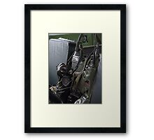 Military vehicle Radio Framed Print