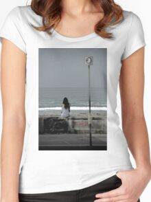 MARINE LAYER Women's Fitted Scoop T-Shirt