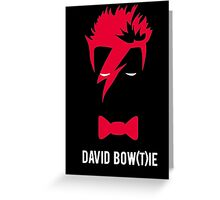 David Bow(T)ie Greeting Card
