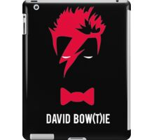 David Bow(T)ie iPad Case/Skin