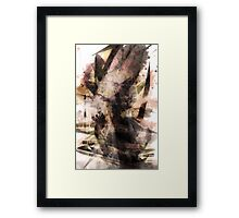 abstract tower Framed Print
