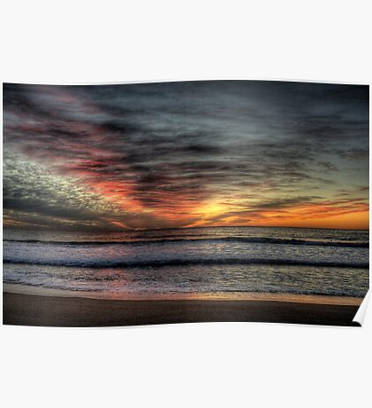 Morning Glory - Warriewood Beach, Sydney - The HDR Experience Poster