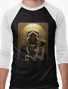 The Black Madonna Men's Baseball ¾ T-Shirt