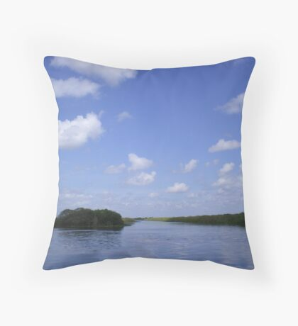 Everglades 27 Throw Pillow