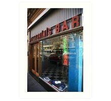 pellegrinis espresso bar. melbourne - victoria Art Print