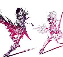 Final Fantasy XIII-2 LOGO by artemys