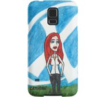 X - Marks The Scully Samsung Galaxy Case/Skin