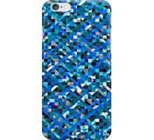 Boy Blue Pixelation iPhone Case/Skin