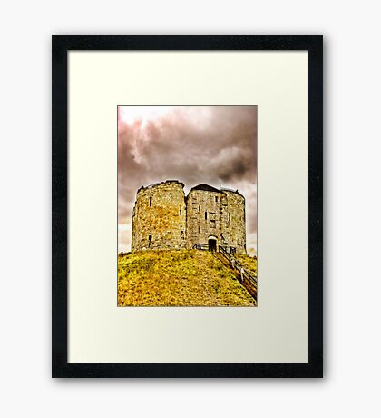 Cliffords Tower - York Framed Print