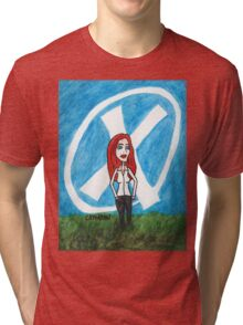 X - Marks The Scully Tri-blend T-Shirt