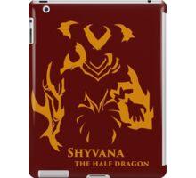 Simplistic Shyvana -League of Legends-  iPad Case/Skin