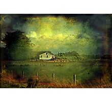 """""""The Old Shearing Shed ..."""" Photographic Print"""