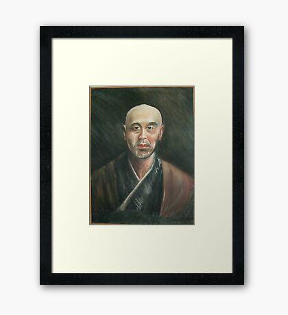Master Lee Framed Print