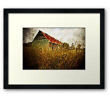 Derelict barn Framed Print