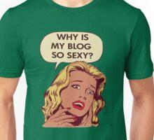 Blog pop art Unisex T-Shirt