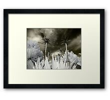 Alien World About Me Framed Print