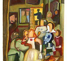 After Velazquez : Las Miñas by Simon Kidd
