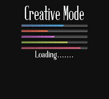 Creative Mode Loading Artist Crafters Design Womens Fitted T-Shirt