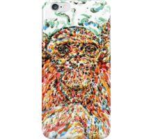 chimpanzee iPhone Case/Skin