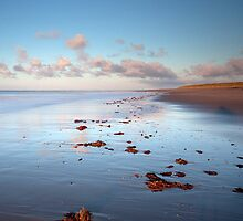 Spurn Point shoreline by Carl Mickleburgh