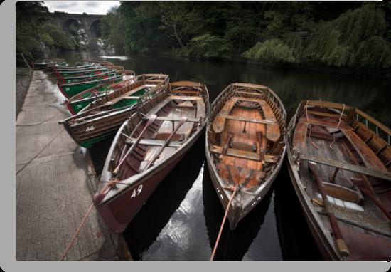 Boats, Knaresborough by Dave Milnes