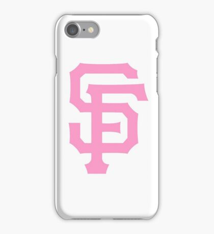 Pink SF Giants iPhone Case/Skin