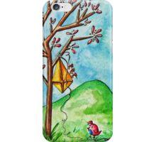 Kite in a Tree iPhone Case/Skin