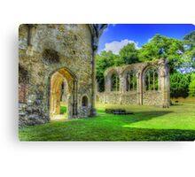Ruins of Netley Abbey Canvas Print