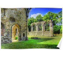 Ruins of Netley Abbey Poster