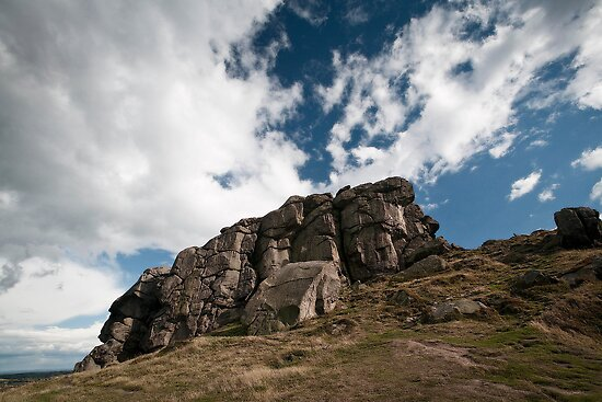 the rugged rocks by Dave Milnes