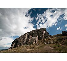 the rugged rocks Photographic Print