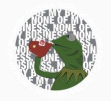 Kermit Sipping Tea Kids Clothes