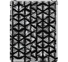 Ink triangles iPad Case/Skin