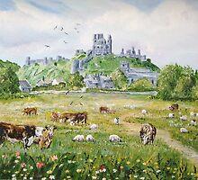 Corfe Castle by Joe Trodden