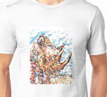 rhinoceros Unisex T-Shirt