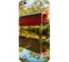 Sugar Creek Covered Bridge iPhone Case/Skin