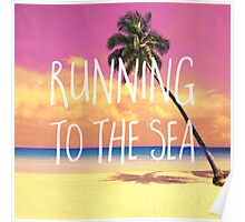 Running to the sea Poster