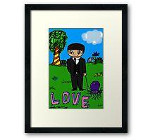Ringo + Octopus Framed Print