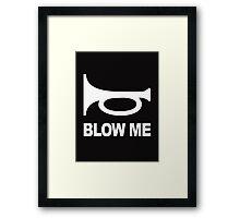 Blow Your Horn Framed Print