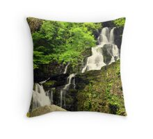 Torc waterfall. Throw Pillow