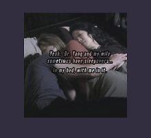 Meredith Cristina Derek sleepover Unisex T-Shirt
