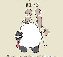 Little-Known Sheep Fact #173 by ramensquid