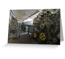 Textile Industry Greeting Card