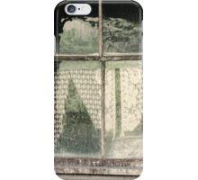 Through a lead glass window iPhone Case/Skin