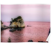 Ionian Pink Poster