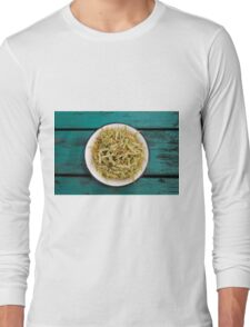 Tilia leaves and blossom Long Sleeve T-Shirt