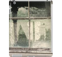 Through a lead glass window iPad Case/Skin