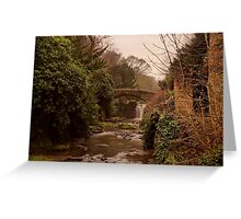 Old Mill in the Dene Greeting Card